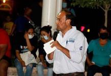 Se promueve candidato a Alcalde con diversas obras municipales