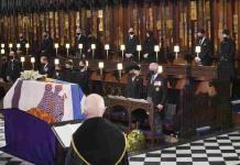Realizan funeral del duque de Edimburgo en la capilla de San Jorge (FOTOS)