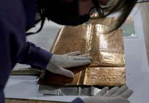 Puebla revive su historia en hojas de oro