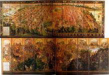 Un biombo que narra La Conquista de México, nueva obra invitada en El Prado