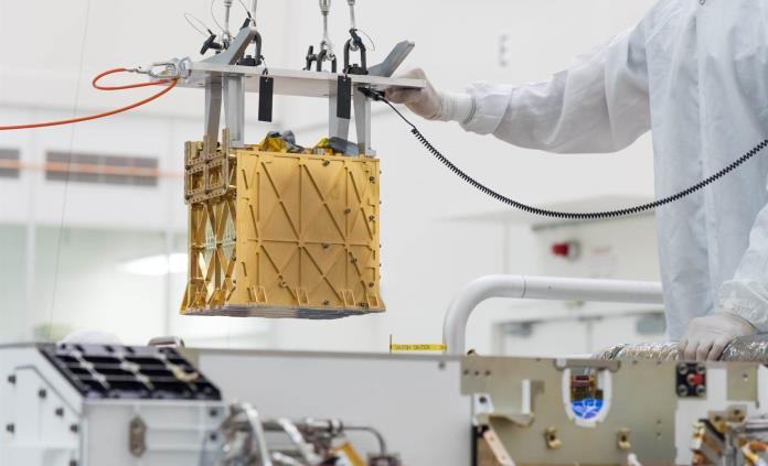 Instrumento del Perseverance logra extraer oxígeno de la atmósfera marciana