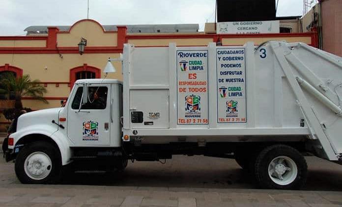 Se normalizan las rutas recolectoras de basura en Rioverde