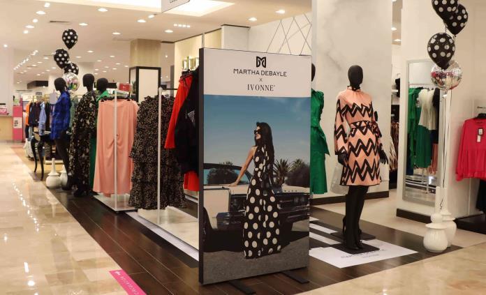 Línea de ropa de Ivonne, diseñada en coordinación con Martha Debayle llega a Liverpool San Luis