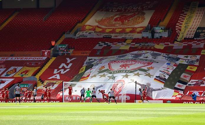 El Liverpool anuncia pérdidas de 46 millones de libras hasta mayo de 2020
