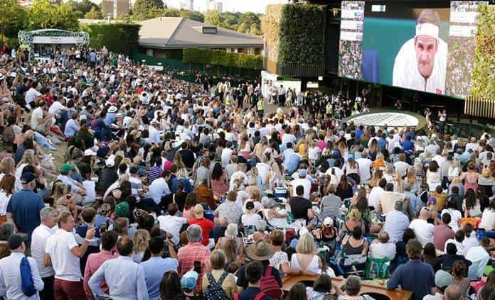Wimbledon se disputará con un 25 % de capacidad como mínimo
