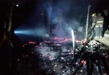 Incendian casa luego de una riña