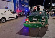 Mujeres resultan heridas en accidente vial