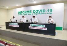 Otra vez baja número de contagios en la Huasteca
