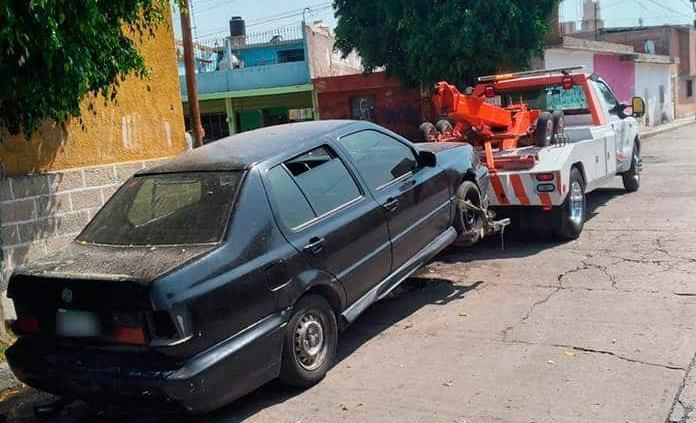 Asegura la Estatal 5 vehículos robados
