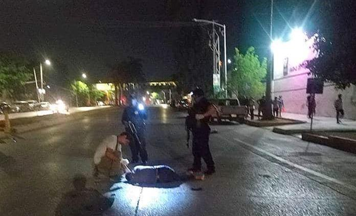 Muere peatón arrollado por auto desconocido
