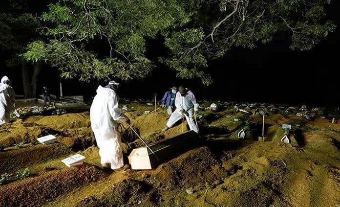 Brasil registra 983 nuevas muertes por la covid-19 en medio de desaceleración