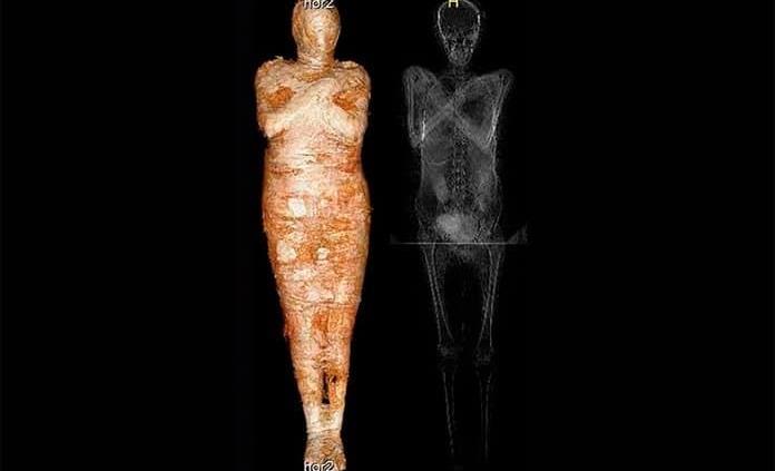 Por primera vez encuentran una momia egipcia embarazada