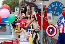 Niñas y niños tuvieron festejo pese a la crisis