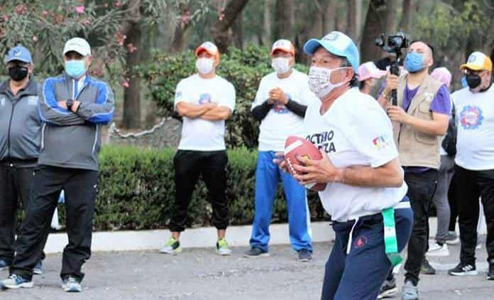 Octavio Pedroza ofrece respaldo a los deportes