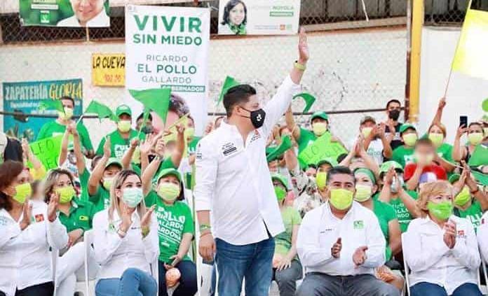 """Propone Gallardo un gobierno en la """"honrosa medianía"""""""