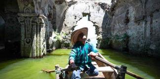La sequía descubre un templo en El Zangarro, Guanajuato