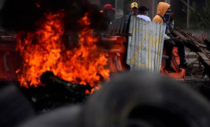La olla de la presión social explota con violencia en Colombia