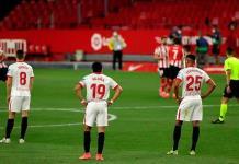 Sevilla tropieza y se rezaga en la pelea por título español