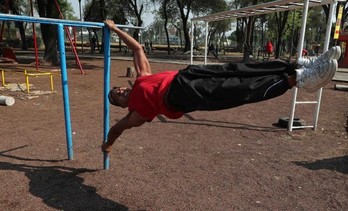 Valle de los mamados, hacer deporte para enfrentar la dura realidad en México
