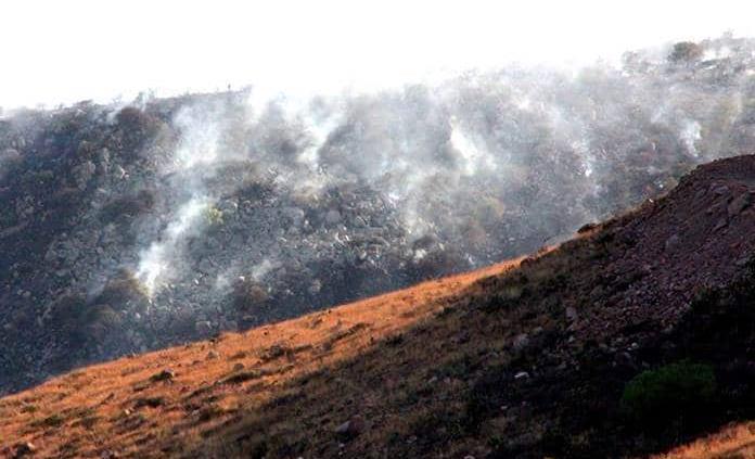 Advierten riesgo de incendios forestales