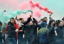 El United niega haber dejado pasar a los aficionados a Old Trafford