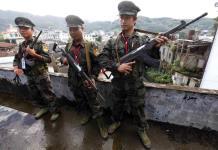 Rebeldes de Myanmar dicen que derribaron helicóptero militar