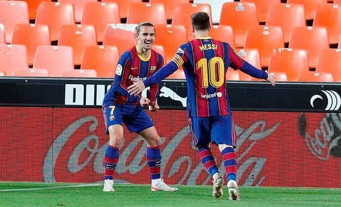 Barcelona mantiene el pulso en La Liga española