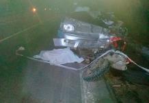 Ebrio conductor choca y ocasiona la muerte de un motociclista