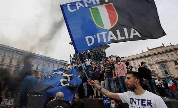 El Inter, campeón de la Serie A