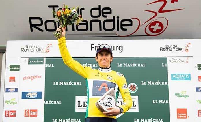 Geraint Thomas se lleva el Tour de Romandía