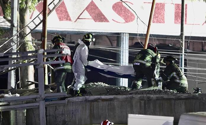 Identifican 22 de los cuerpos tras colapso de la Línea 12 del Metro