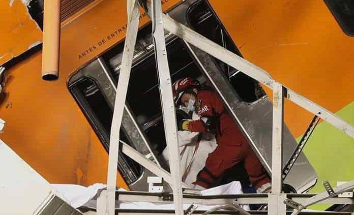 No logran dar con paradero de sus familiares tras accidente en L12 del Metro