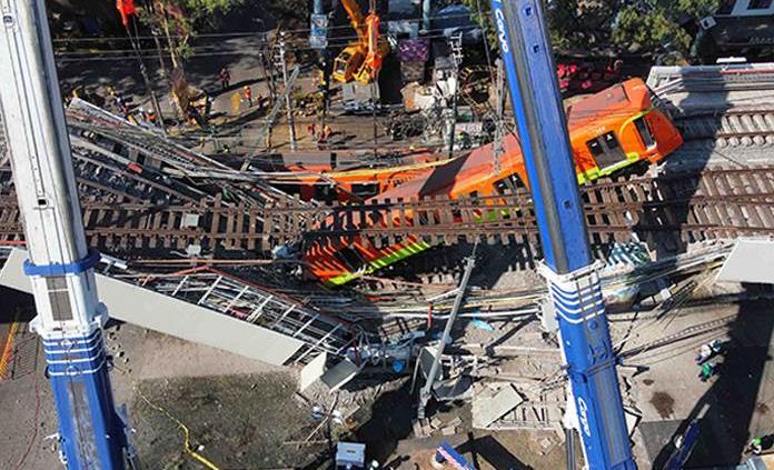 AMLO decreta tres días de luto nacional por accidente en Línea 12