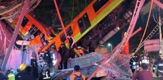 Colapsa el puente de la línea 12 del Metro en CDMX (FOTOS Y VIDEOS)