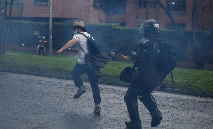 Denuncian la desaparición de 87 personas durante las protestas en Colombia