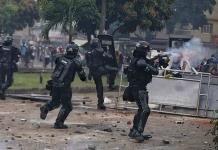 La ONU denuncia un uso excesivo de la fuerza contra protestas en Colombia
