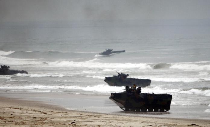 Suspenden a inspector militar por desastre anfibio