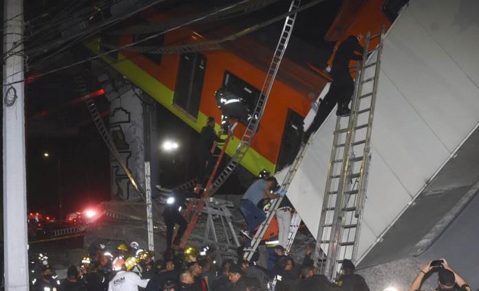 AMLO envía pésame a familiares de víctimas del accidente del Metro