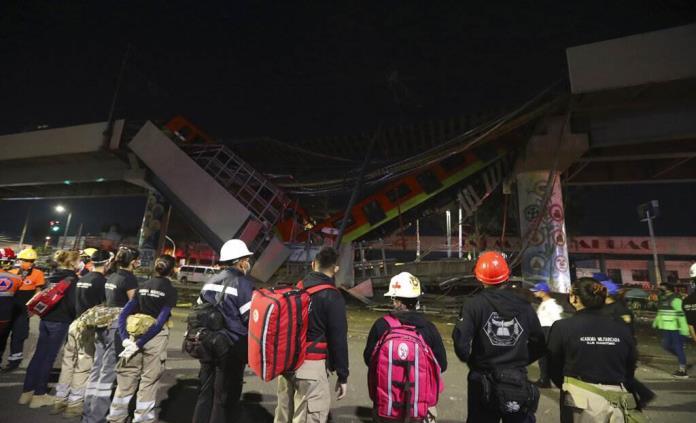 Accidente por falla de obra civil: secretario de sindicato de Metro