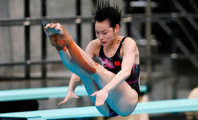 Oro para la china Chen en trampolín, cuarta plaza para la mexicana Vázquez