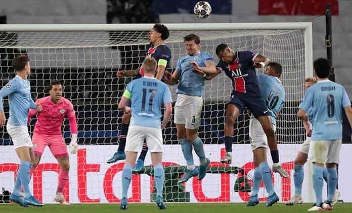 Un exhausto PSG busca revertir derrota ante Manchester City