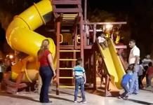 Vecinos piden a candidatos crear parques infantiles