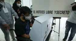INE realiza simulacro de votación con protocolos sanitarios por Covid