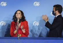 Líder conservadora en Madrid revitaliza la derecha española