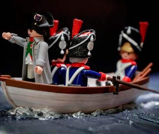 Un museo belga cuenta la vida de Napoleón con 2,000 figuras de Playmobil (FOTOS)