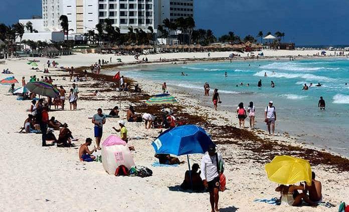 Turismo internacional en México marca repunte del 199 % interanual en abril
