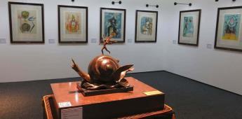 Obra gráfica de Dalí brilla en nueva exposición en México