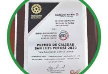 Binasa Rodamientos y Refacciones recibe Premio de Calidad de Canacintra
