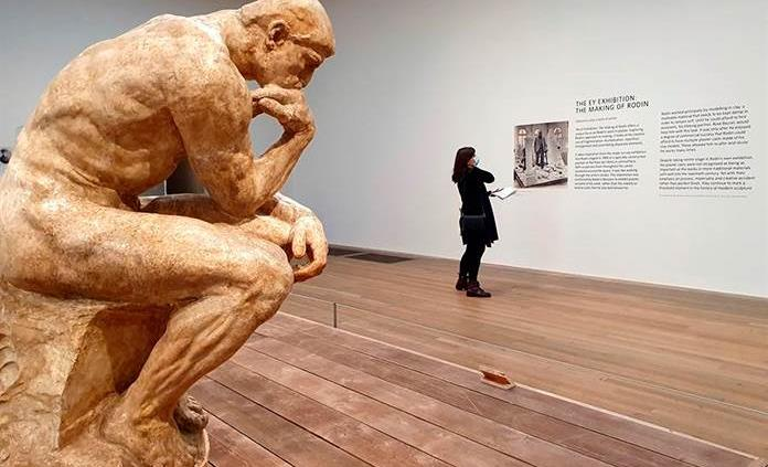 La Tate Modern sale del confinamiento con un paseo por la obra de Rodin