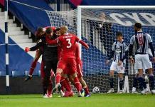 Becker anotó de último minuto el gol del triunfo para el Liverpool